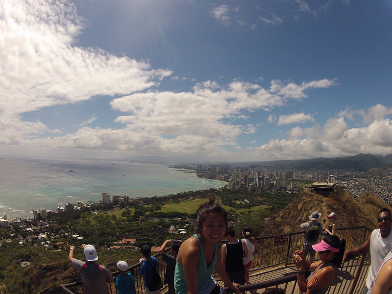 Hawaii - Diamond Head GoPro