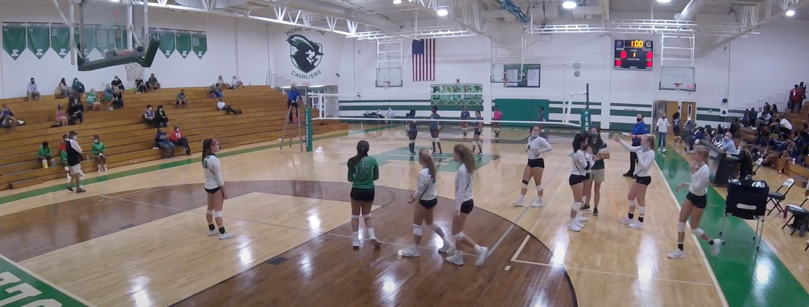 🎥 🏐 Clay-Chalkville @ John Carroll Catholic | JV | Video