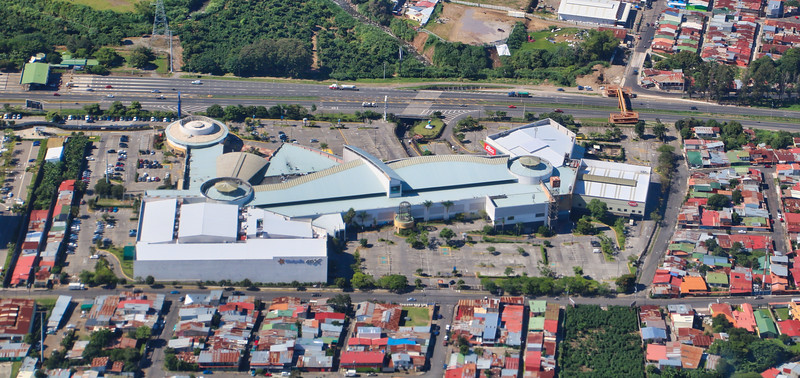 Terramall Shopping Center, Pricesmart and Terracampus in La Union, Cartago, Costa Rica