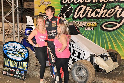 USAC SpeedSTRs, 600cc Micro Sprints, and Slingshots at the Acton Track - 6/2/21