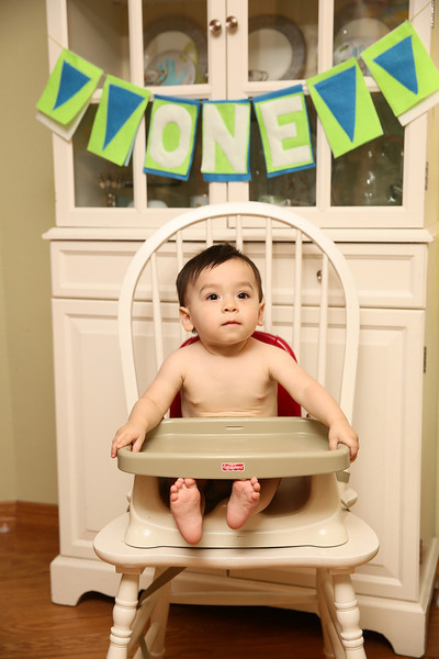 Oscar's First Birthday