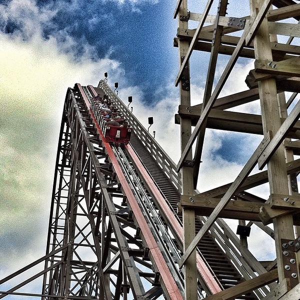 35 seconds of the #fastest #steepest #tallest #WOW. And thanks @Discover for the fast park entry! cc @d_stro @dangingiss
