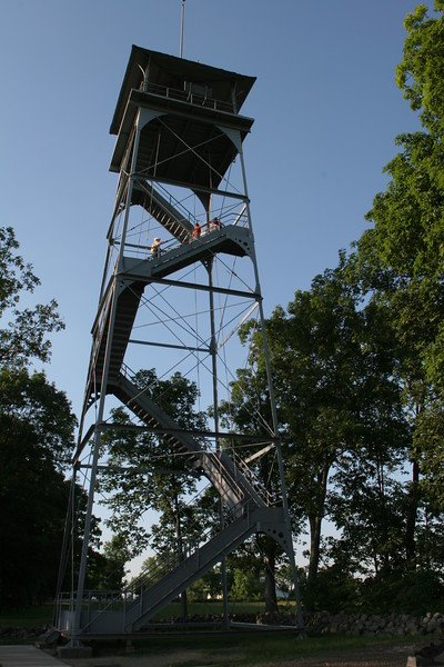 Lookout tower on Seminary Ridge