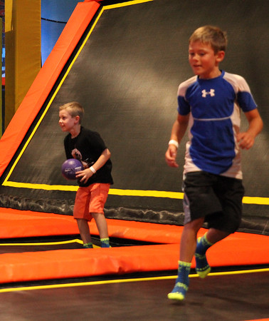 Griffin's birthday party at Urban Air