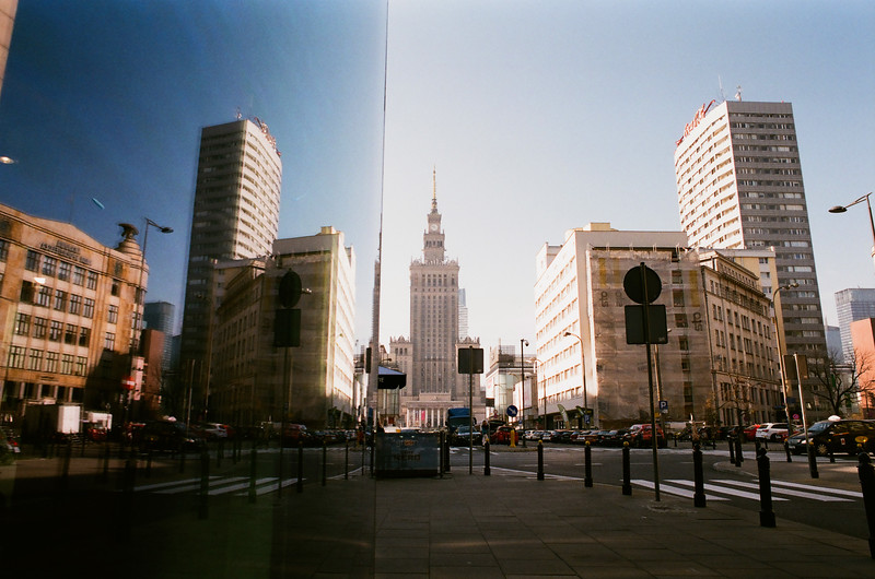 reflection palace of culture warsaw fujifilm analog autumn.jpg