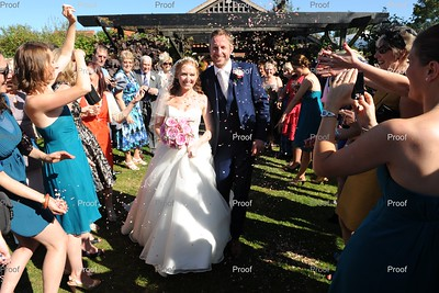 Cassie and Russell at Maiden's Barn