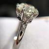 2.63ct Old European Cut Diamond Solitaire, GIA K VS2 7