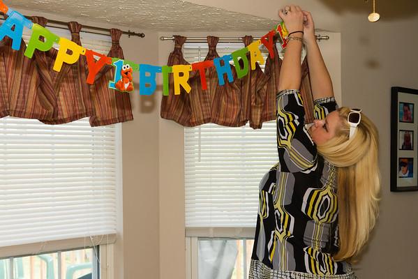 Cadens First Birthday