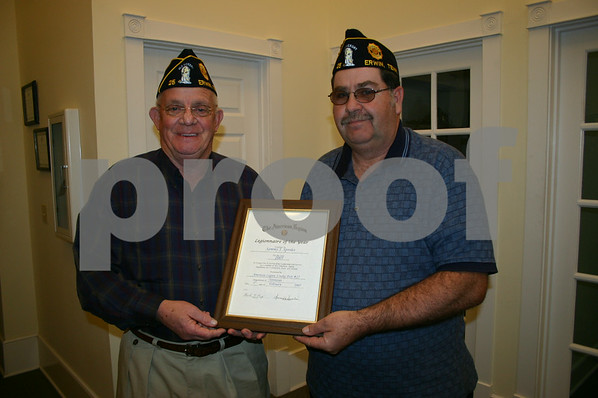 American Legion Legionnaire of the Year - February 2005