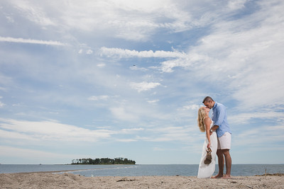 Liz + Aaron's Engagement :: Silver Sands Beach :: Milford, CT