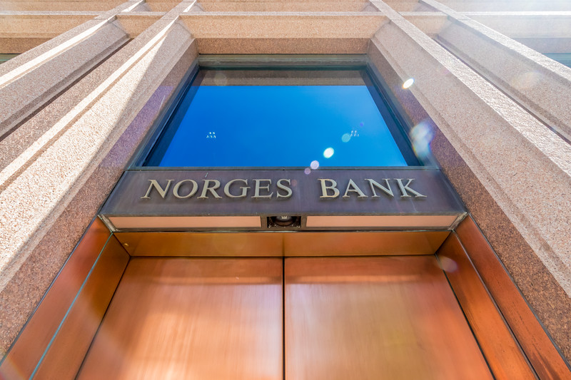 Skilting ved Norges Bank