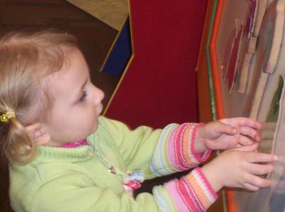 Rachel at Children's Museum - March 2006