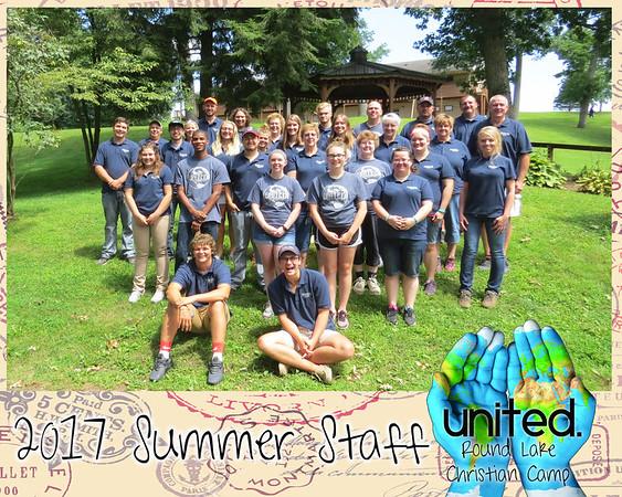 2017 Summer Staff