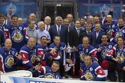 Международный турнир по хоккею среди силовых структур. Сочи, 15-16 августа 2013