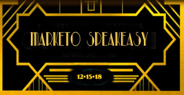 Marketo Speakeasy