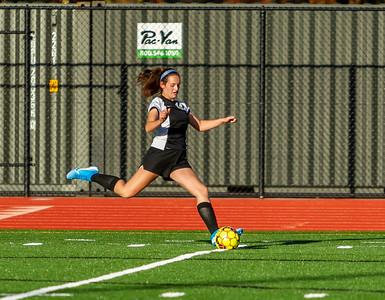 Set two: Vashon Island High School Girls JV Soccer v Seattle Academy 10/30/2019