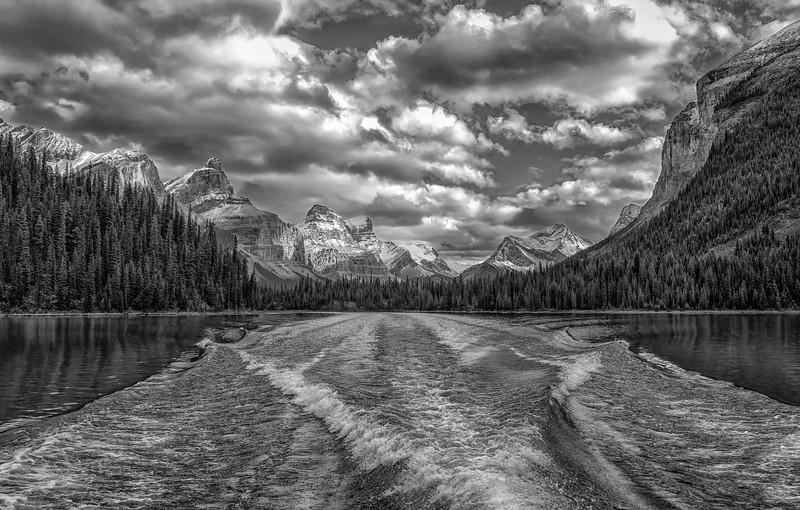 Boating in Black & White