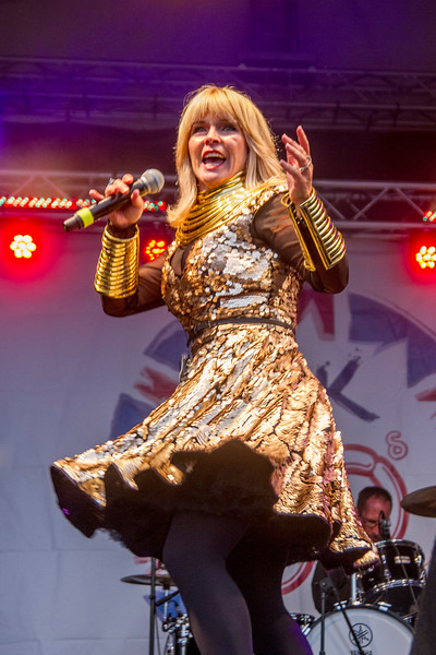 Toyah at Jack up the 80s 2018