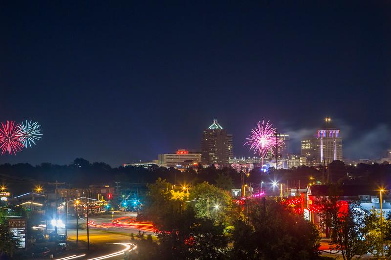 Greensboro Fireworks
