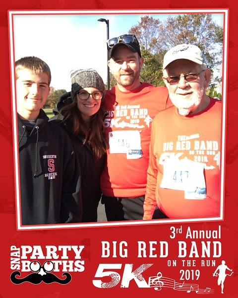 3rd Annual Big Red Band on the Run