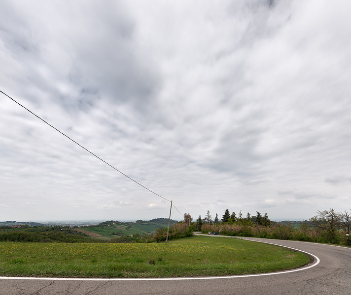 SP 63 - Albinea, Reggio Emilia, Italy - April 13, 2019