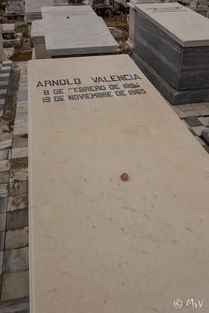 Row TC (row 2) #35 Arnold Valencia.