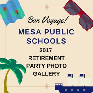 2017 Retirement Party - Mesa Public Schools