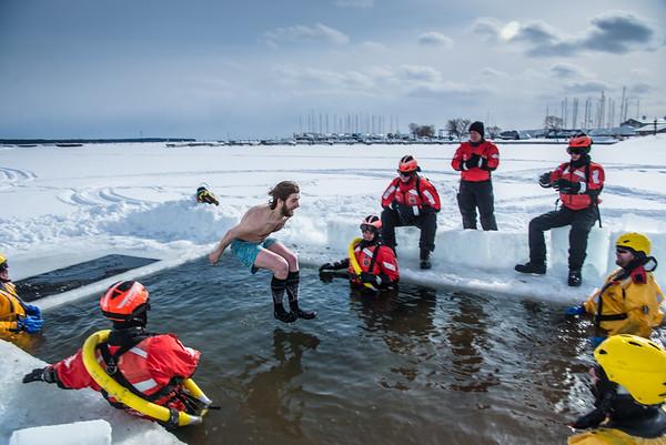 Bayfield Polar Plunge