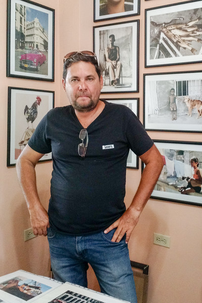Cienfuegos Photographer Omar Valenti and his work