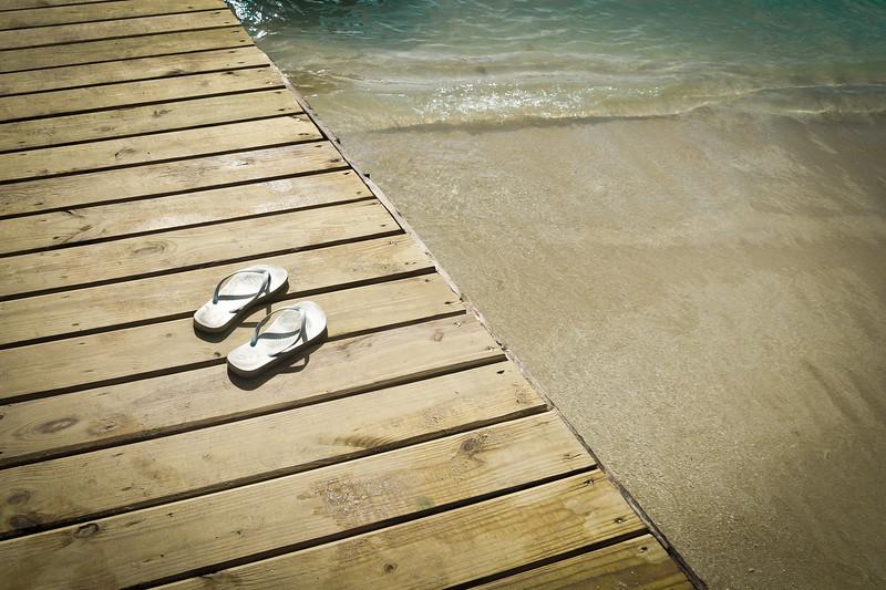 St. John Flip Flop Dock
