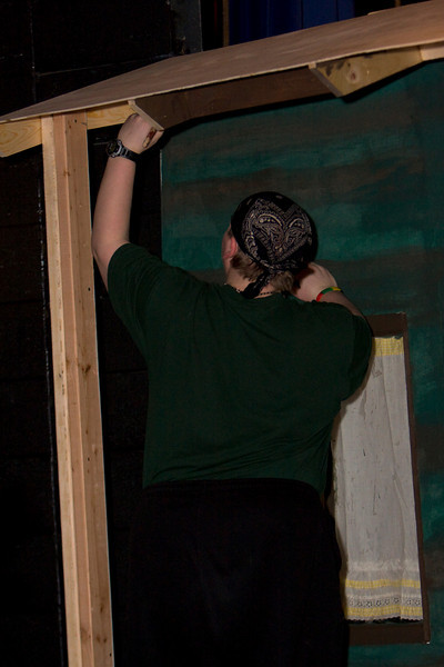 """The Shadow Box"" Set Building (Feb. 2008)"