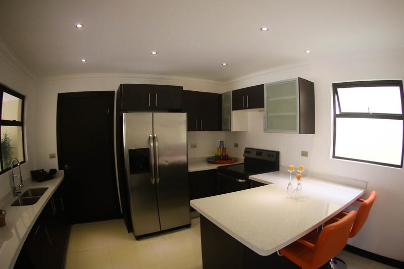 Modern Kitchen with Quartz Countertop