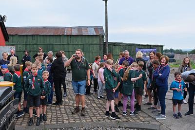 2019 Scouts visit July