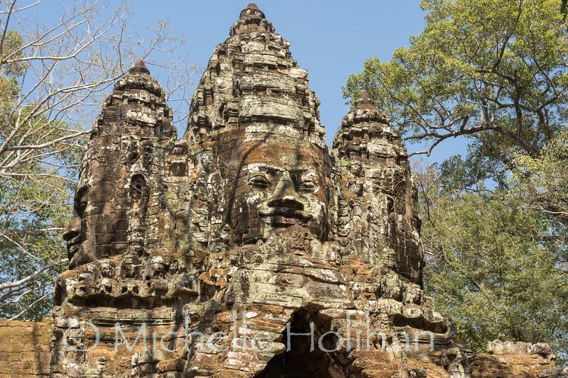 North Gate, Angkor Park, Siem Reap, Cambodia