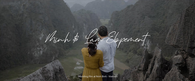 M & L Elopement | Wedding film at Ninh Binh - Vietnam