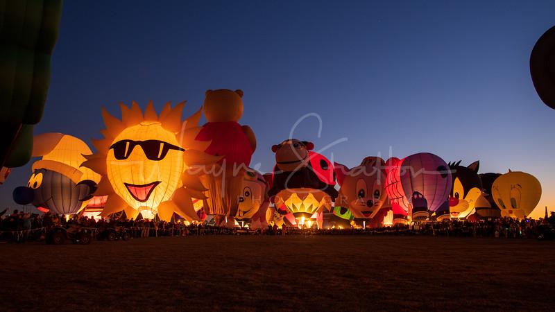 The Albuquerque International Balloon Fiesta 2019