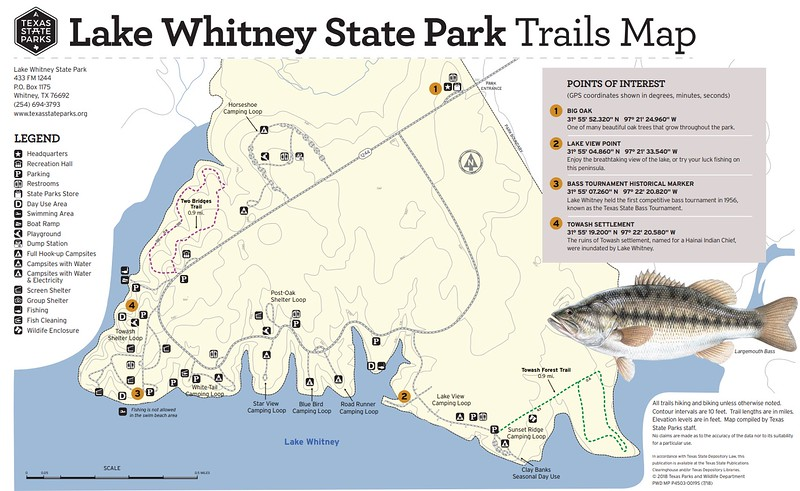 Lake Whitney State Park (Trails)