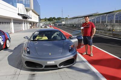 Hungaroring 2017 - Ferrari 430 drive
