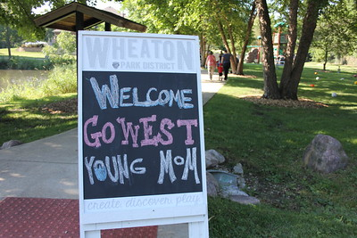 Go West Young Mom Park Party
