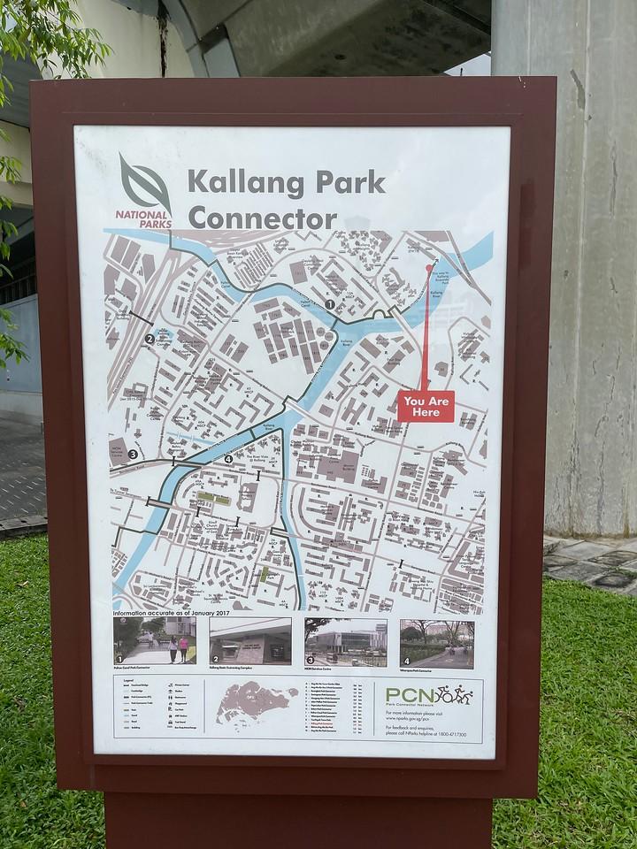 End of Kallang Park Connector