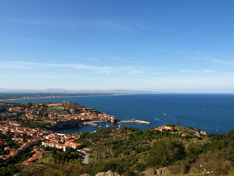 Collioure, France Aerial View  Order Code: B21