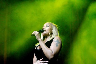 Mary J Blige live at the Borgata Casino & Resort in Atlantic City, New Jersey