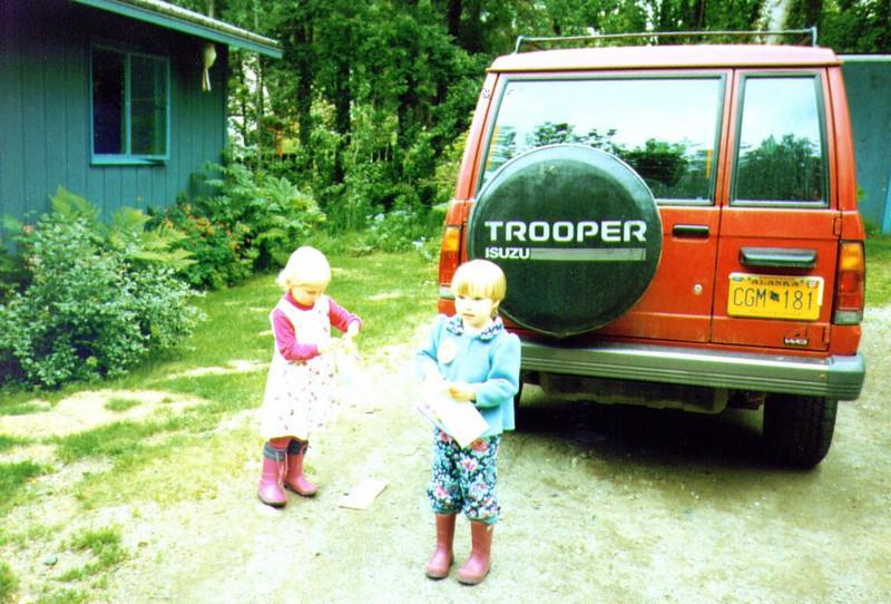 Sajie & Alina, Scavenger Hunt, 6-25-1996 .jpg