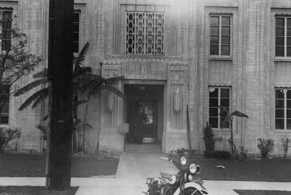 Police Station Entrance