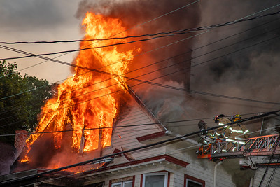 Walnut St. Fire (Waterbury, CT) 6/20/20