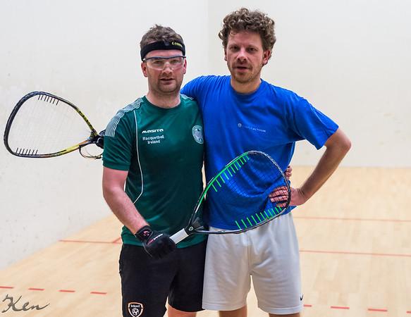 Johnny O Keeney (Ireland) over Pascal Matla (Netherlands) Individual