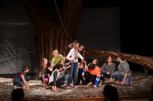Tarzan - 2/17/16 Rehearsal
