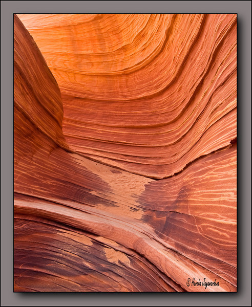 The Wave, North and South  Coyote Buttes