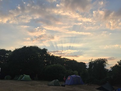 1st Knaphill Group Camp July 2018
