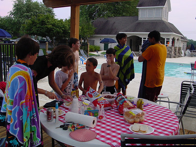 Chris' 12th Birthday Party at the Pool (2003)
